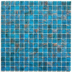 Shower mosaic Vitro Bleu bathroom mosaic