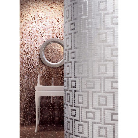Bathroom mosaic shower mosaic Art Hermes