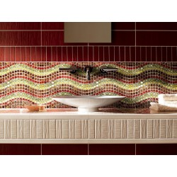 Bathroom and shower mosaic Shona