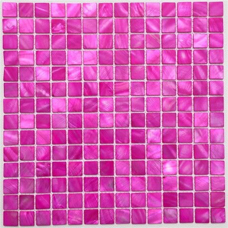 Mother of pearl mosaic Odyssee Rose