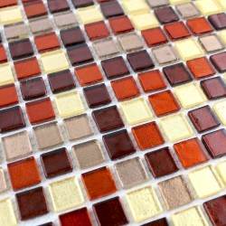 sample glass mosaic for shower bathrrom Gloss Tuno