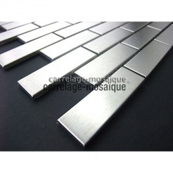 Sample stainless steel mosaic kitchen Brick 64