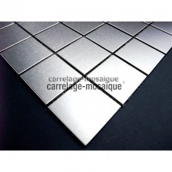 stainless stell mosaic regular 48 sample