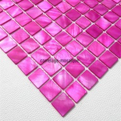 Sample Mother of pearl mosaic Odyssee Rose