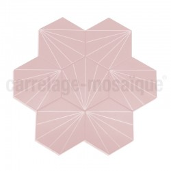 Cement tiles imitation Fyler Rosa