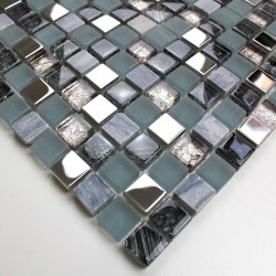 Sample bathroom shower mosaic Galb