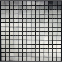 Splashback kitchen stainless steel mosaic Regular20 italian shower