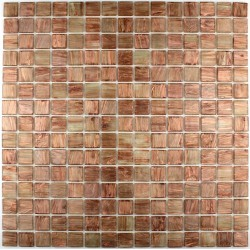 Glass mosaic Bathroom Golline Miel