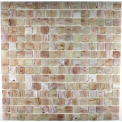 Glass mosaic shower Phoenix Beige