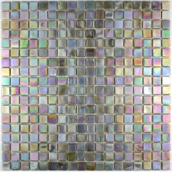 Glass mosaic Rainbow Perle shower bathroom Rainbow Perle