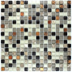 Splashback kitchen mosaic Verdi