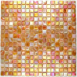 Shower mosac Rainbow Corail bathroom mosaic