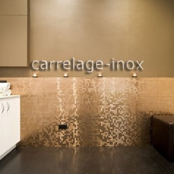 Stainless steel mosaic bathroom Mixtion cuivre