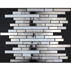 Mosaic splashback kitchen shower Bathroom Multi Wave